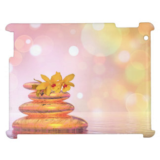 Peaceful pebbles - 3D render iPad Case