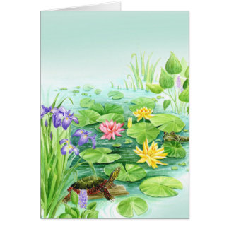 Peaceful Pond Card