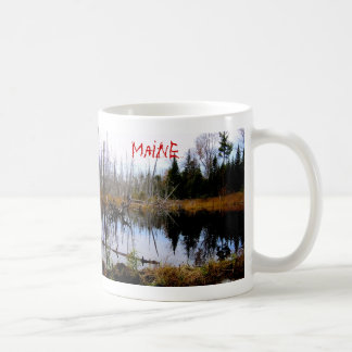 Peaceful Pond in Maine Coffee Mug