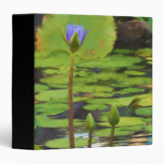 Peaceful Pond- Water Lily Binder