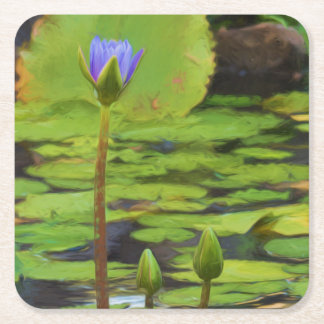 Peaceful Pond- Water Lily Coasters