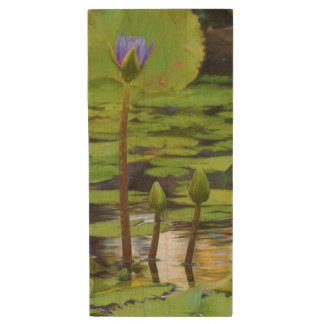 Peaceful Pond- Water Lily USB Drive