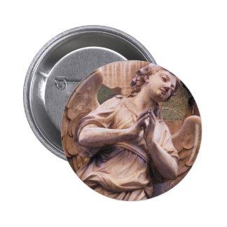 Peaceful Renaissance Angel 2 Inch Round Button
