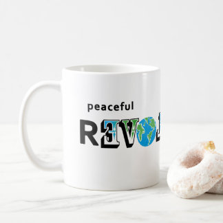 Peaceful Revolution LOVE EARTH MUG