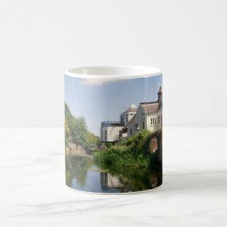 Peaceful River Scene Classic White Coffee Mug