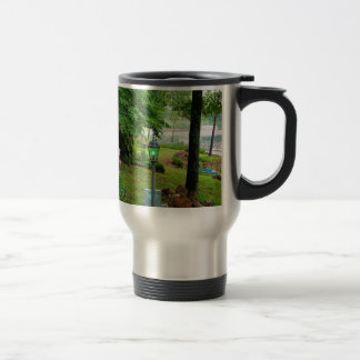 Peaceful Scenic Lakefront View Travel Mug