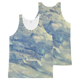 Peaceful Sea All-Over-Print Tank Top