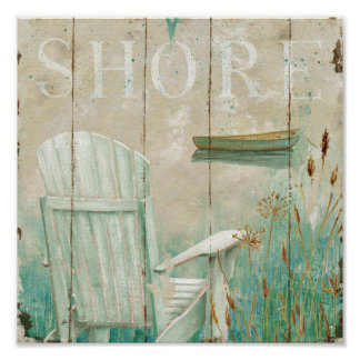 Peaceful Shore Poster