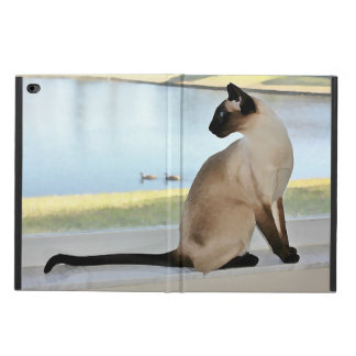 Peaceful Siamese Cat Painting