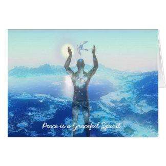 Peaceful Spirit Card