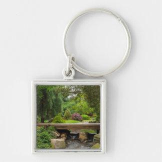 Peaceful Spring Creek Keychain