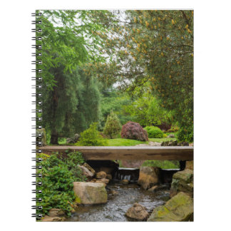 Peaceful Spring Creek Spiral Notebook