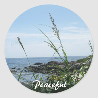 Peaceful Sticker