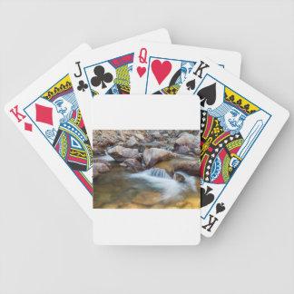 Peaceful Stream Poker Deck