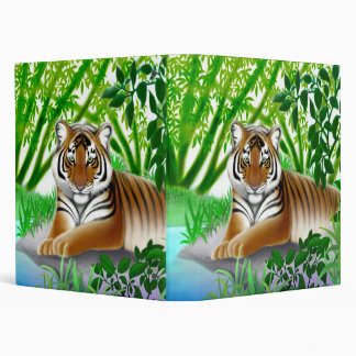 Peaceful Sumatran Tiger Avery Binder