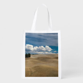 Peaceful Themed, Beautiful Toscana Desert View Wit Grocery Bags