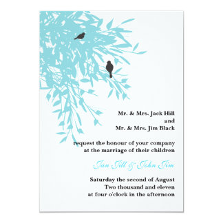 Peaceful Wedding Invite