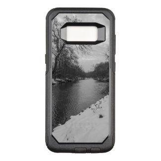 Peaceful Winter At James River Grayscale OtterBox Commuter Samsung Galaxy S8 Case