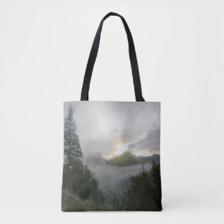 Peaceful Winter Morning.... Tote Bag