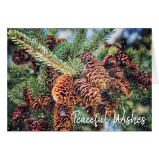 Peaceful Wishes Holiday Card