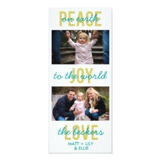 'PeaceJoyLove' Holiday Photo Card