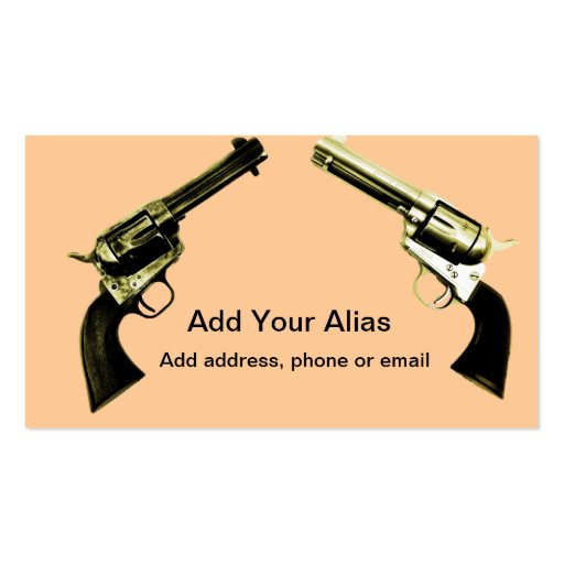 Peacemaker business card