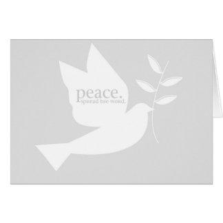 PeaceSpreadTheWord Card