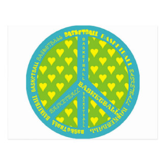 peacewithbasketballinframe. postcard
