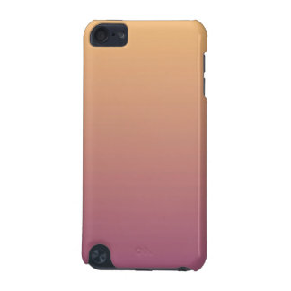 Peach and Plum Ombre Gradient iPod Touch (5th Generation) Cases