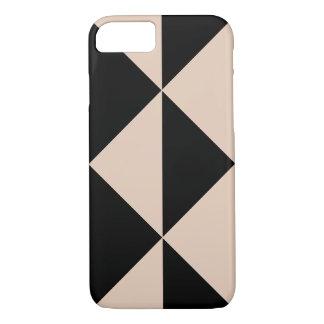 Peach Arrow + Changeable Black Background Color iPhone 7 Case
