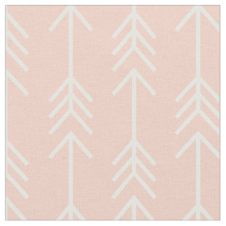 Peach Arrows Fabric