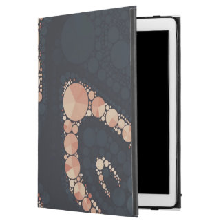 Peach Black Bling Abstract