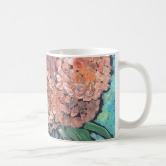 Peach Blooms Coffee Mug