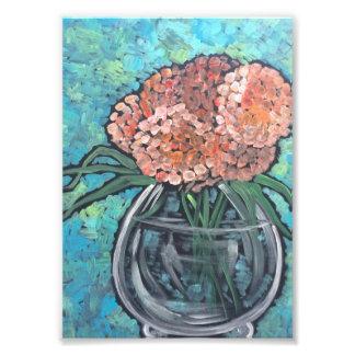 Peach Blooms Photo Print