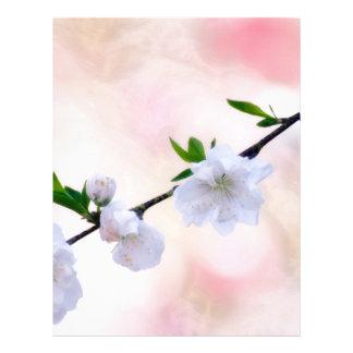 Peach Blossom Letterhead