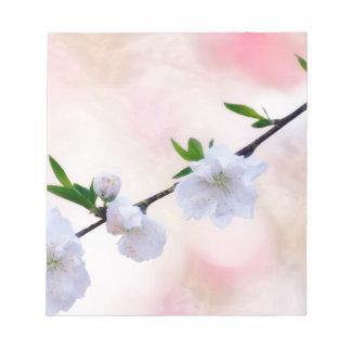 Peach Blossom Notepad