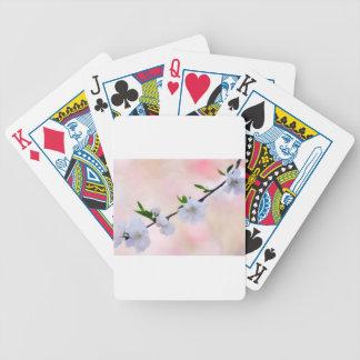 Peach Blossom Poker Deck
