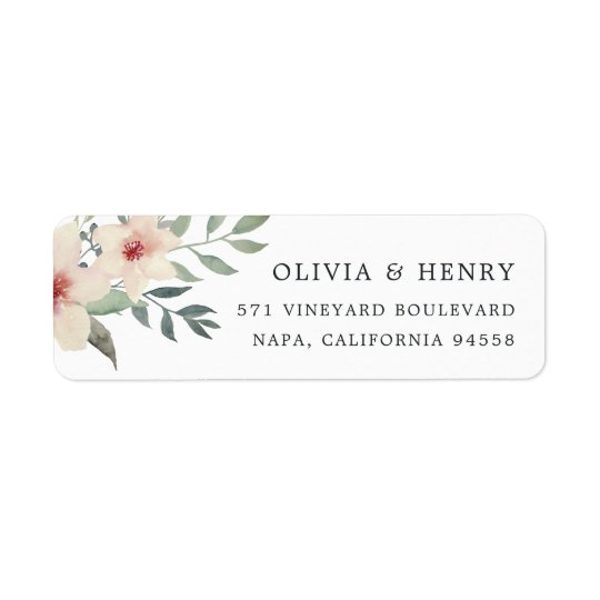 Peach Blossom Return Address