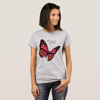 Peach Butterfly T Shirt