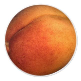 Peach Ceramic Knob