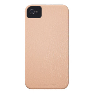 Peach Coral Leather Look iPhone 4/4s Case-Mate iPhone 4 Case