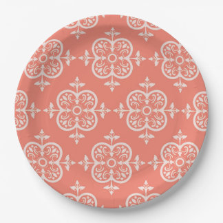 Peach Plates Zazzle Ca