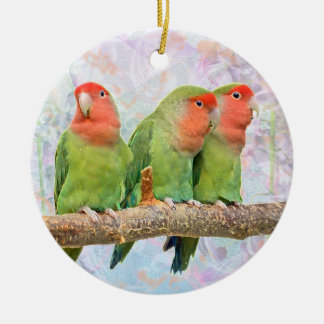 Peach Delight Ornament