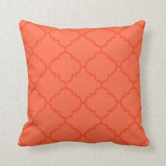 Peach Dream Pattern Pillow