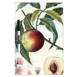 peach dry erase board