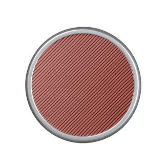 Peach Echo and Black Stripe Bluetooth Speaker