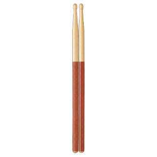 Peach Echo and Black Stripe Drumsticks