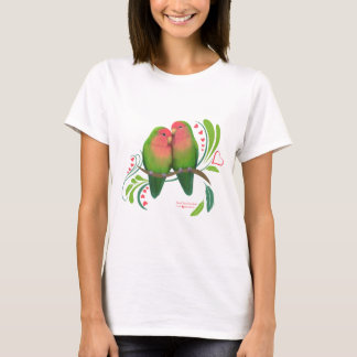 Peach Faced Love Birds T-Shirt