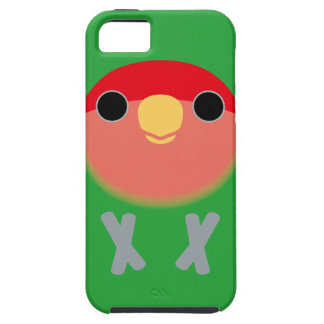 Peach-faced Lovebird iPhone 5 Covers