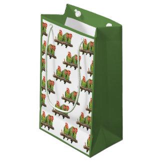 Peach-Faced Lovebirds Gift Bag